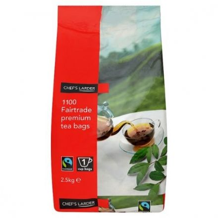 Chef's Larder 1100 Premium Fairtrade Tea Bags 2.5kg